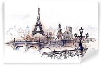 Paris (series C) Wall Mural - Vinyl