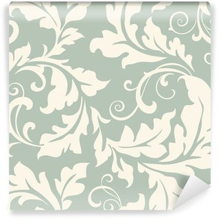 Vinyl Wall Mural Pattern floral seamless