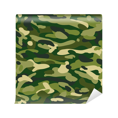 Pattern military camouflage wall mural pixers we live for Camouflage wall mural