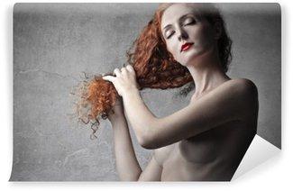 Perfect curls Wall Mural - Vinyl