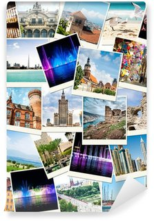 photos from travels to different countries Wall Mural - Vinyl