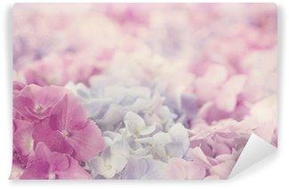 Pink hydrangea flowers Wall Mural - Vinyl