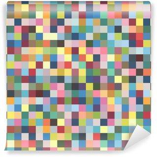 Wall Mural - Vinyl Pixel pattern