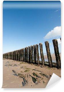 Wall Mural - Vinyl Poles at the beach