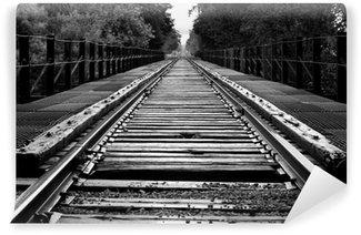 Wall Mural - Vinyl railroad lobridge