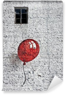 Wall Mural - Vinyl red baloon 4