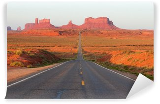 Road To Monument Valley Wall Mural - Vinyl