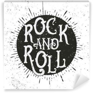 Rock music print Wall Mural - Vinyl