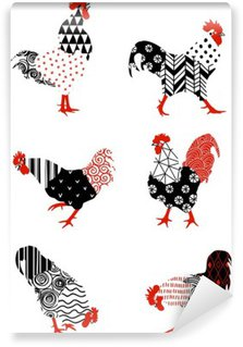 Wall Mural - Vinyl rooster