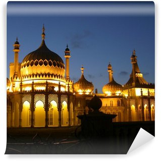 Vinyl Wall Mural royal pavilion in brighton by night