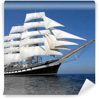 Wall Mural - Vinyl Sailing ship