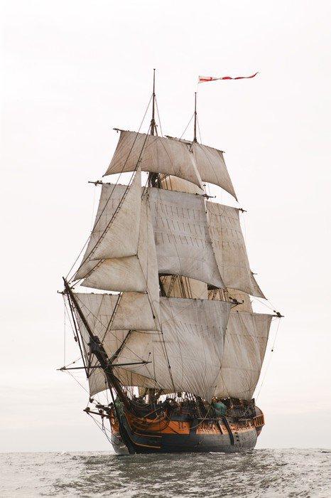 Wall Mural - Vinyl Sailing Ship - Boats