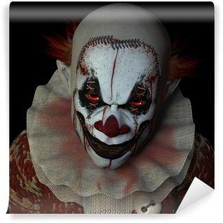 Wall Mural - Vinyl Scary Clown 1