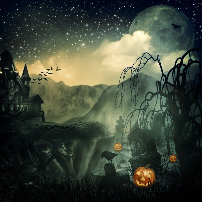 wall mural vinyl scary movie abstract halloween backgrounds for your design international celebrations - Halloween Wall Mural