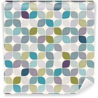 Wall Mural - Vinyl seamless abstract dots pattern