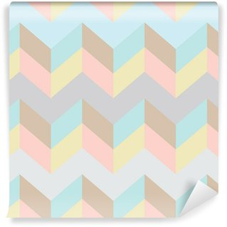 Seamless chevron pattern Wall Mural - Vinyl