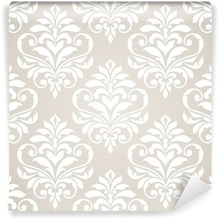 Wall Mural - Vinyl Seamless damask pattern.