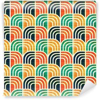 Vinyl Wall Mural seamless geometric pattern