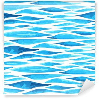 Seamless horizontal sea background Wall Mural - Vinyl