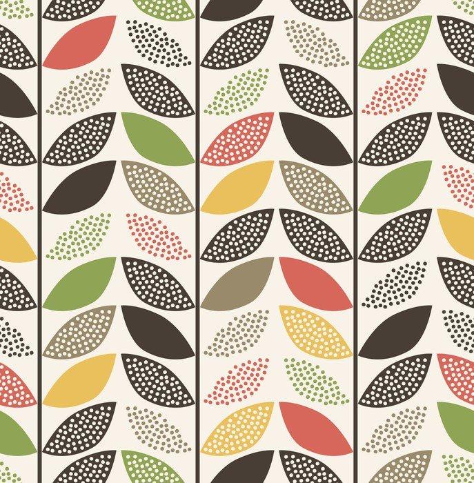 seamless leaf pattern background