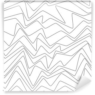 Seamless Repeat Minimal lines abstract strpes paper textile fabric pattern Wall Mural - Vinyl