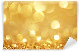 Vinyl Wall Mural Shiny golden lights