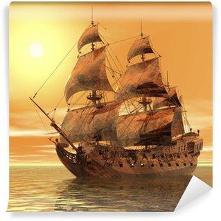 Wall Mural - Vinyl ship