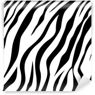 skin zebra Wall Mural - Vinyl