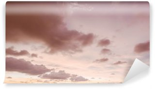 Sky and clouds evening Wall Mural - Vinyl