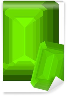 Wall Mural - Vinyl smaragd