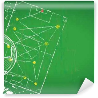 Wall Mural - Vinyl Soccer / Football design template,free copy space, vector