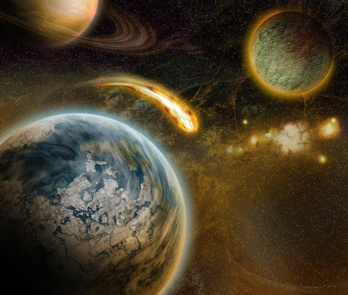 Wall Mural   Vinyl Solar System   Universe