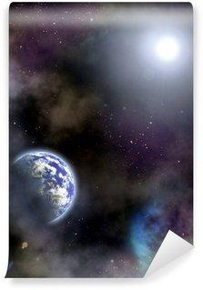 space scenario Wall Mural - Vinyl