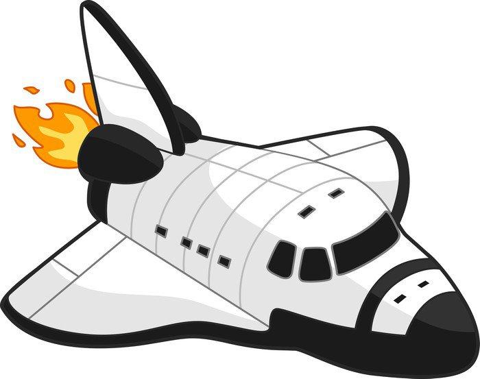 Wall Mural   Vinyl Space Shuttle   Air Part 48