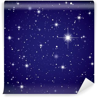 Space view star sky