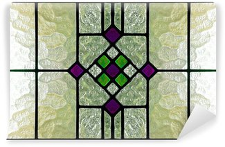 Vinyl Wall Mural stained glass window