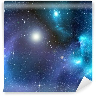 starry background of deep outer space Wall Mural - Vinyl