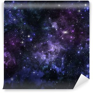 starry sky in the open space Wall Mural - Vinyl