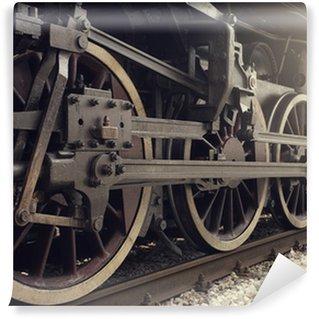Wall Mural - Vinyl Steam train