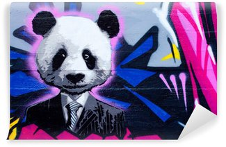 Wall Mural - Vinyl Suited panda