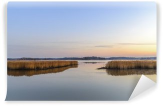 Sunset and calm sea Wall Mural - Vinyl