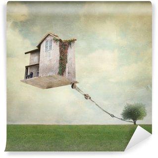 Wall Mural - Vinyl Surreal house