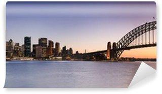 Sydney CBD from Kirribilli Set Panor Wall Mural - Vinyl