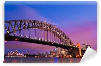 Sydney habour bridge - sydney city Wall Mural - Vinyl