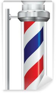 Symbol barber lamp Wall Mural - Vinyl