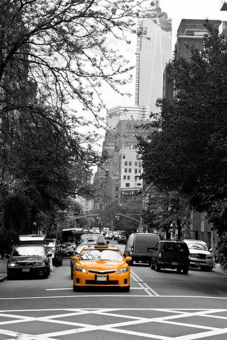 Wall Mural   Vinyl Taxis On SOHO Streets, New York, USA   Themes