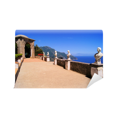 Terrace of infinity above the amalfi coast ravello italy for Terrace of infinity