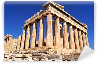 Acropolis wall murals the architectural motifs pixers for Ancient greek mural
