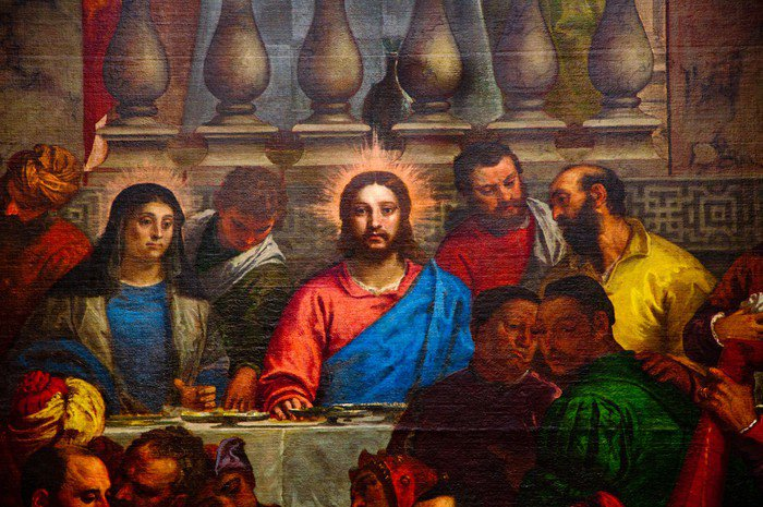Wall Mural   Vinyl The Last Supper.   Themes Part 38