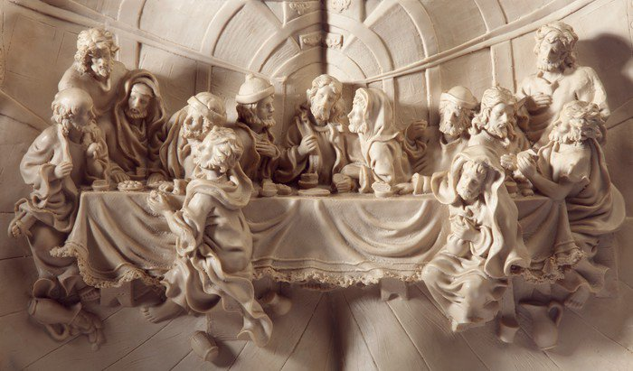 Good Wall Mural   Vinyl The Last Supper   Themes Part 21